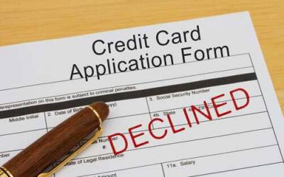 Know why Credit Card Applications are rejected?