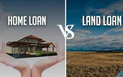Know the difference between Home Loan and Land Loan