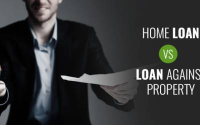 Differentiating Home Loan and Loan against Property.
